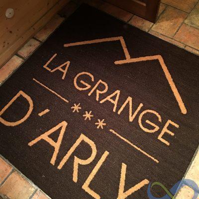 Tapis coco logo Grange d'Arly 23mm