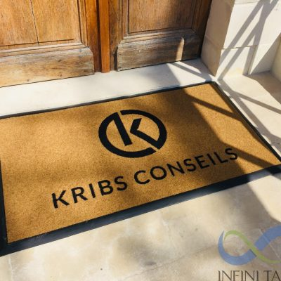 Tapis velvet avec bords Kribs